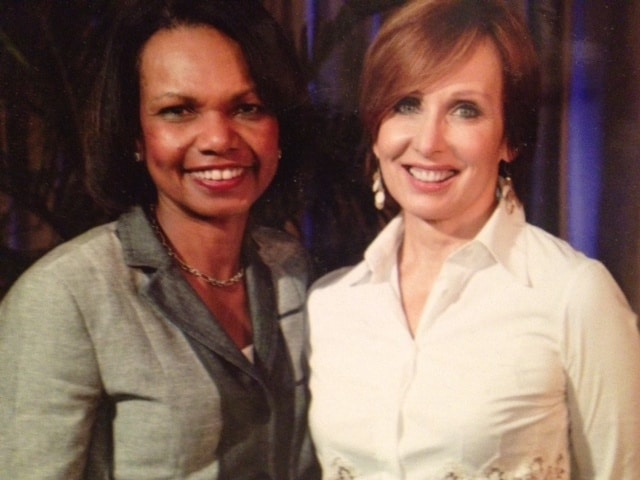 Susan-Lisovicz and Condoleezza-Rice